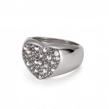 """Crystal Ring """"Herz"""""""