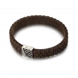 925 Leder Armband