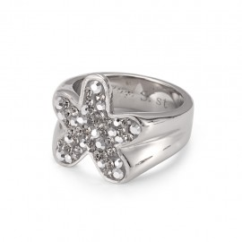 "Crystal Ring ""Blume"""
