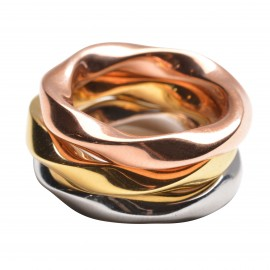 Twist Stapelring Set
