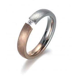 Bicolor Partner Ring