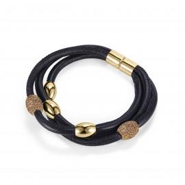 Glamour Leder Armband